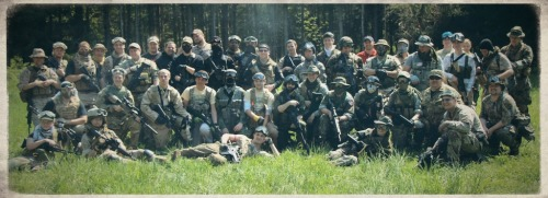 crosman:  Hanging out at Operation Minuteman at Hunters Creek Airsoft in New South Wales, NY. Can you spot the Crosman prostaffer?  It's almost like S.A.S. was there somewhere…. For anyone that doesn't know, our team lead owns Hunter's Creek, and we had an amazing turn out for an op this past weekend. Was nice to see everyone there!