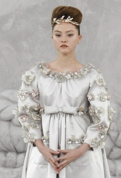 hautekills:  Devon Aoki at Chanel haute couture s/s 2008