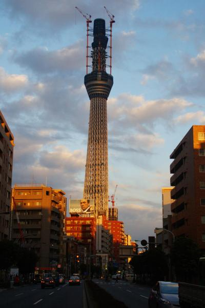 Tokyo, Sky Tree in Oshiage area, Japan
