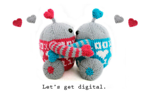 Luvbots get digital by Mochimochi Land on Flickr.