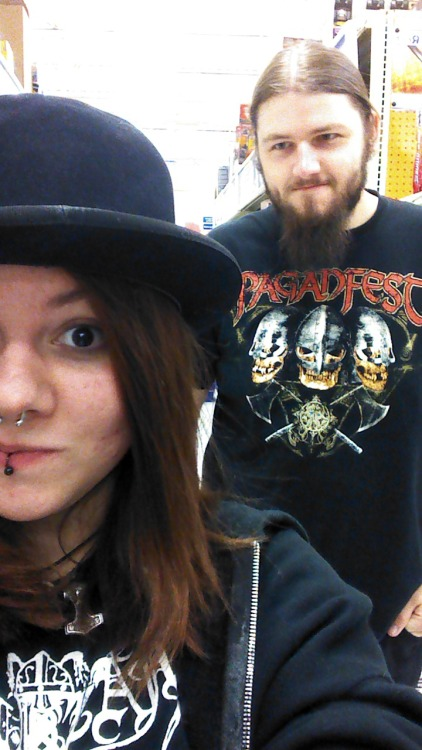 Guess who bought a top hat for $3.99? Nick found it for me, literally the only things I've bought recently are things he picks  out to show me. It's sad and really awesome that he knows my tastes so well.