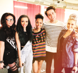 Little Mix at BBC Radio 1 Breakfast Show.