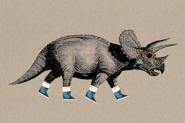 stonyslov:  Triceratops by Spoons Kunz on Flickr.
