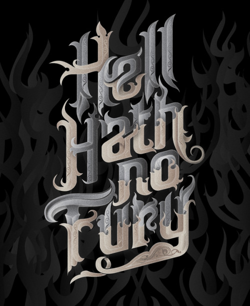 beautifultype:  Really nice lettering from Bobby Haiqalsyah, via Behance