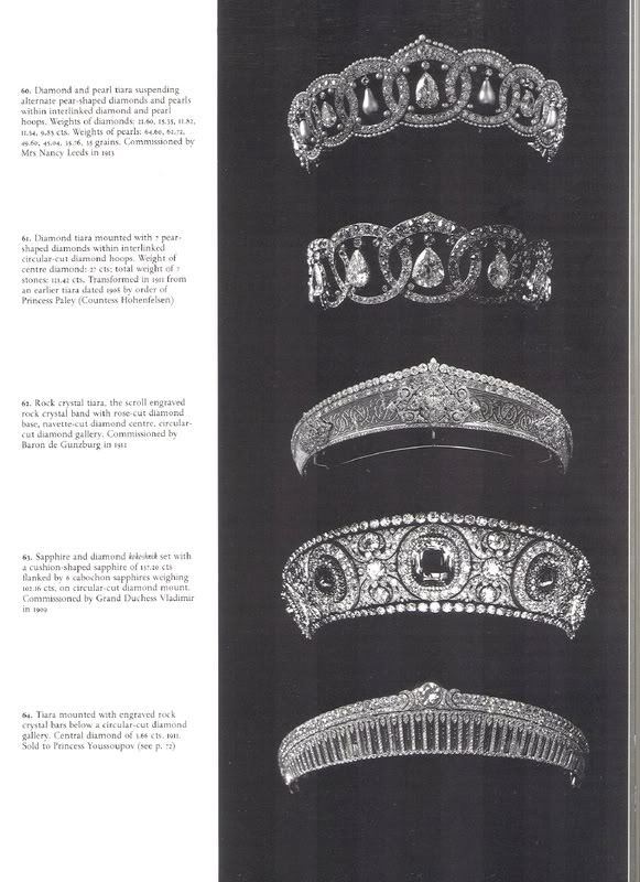 ohsoromanov:   The Russian Cartier Tiaras