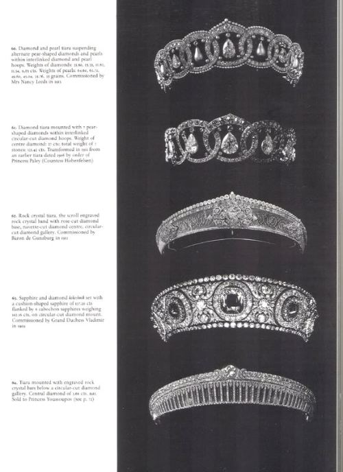 The Russian Cartier Tiaras,