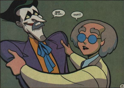 justveryslightlymad:   Batman Adventures #28  omg
