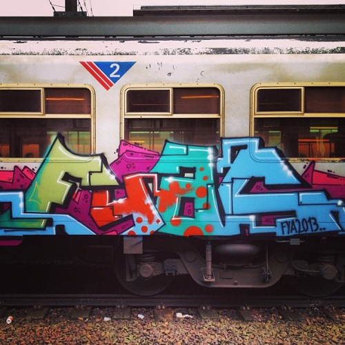 FYA2013 (at Gare de Bruxelles-Midi / Station Brussel-Zuid)