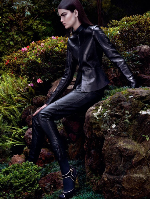 fordmodels:  Kamila for Harper's Bazaar Brazil May 2013  in the garden