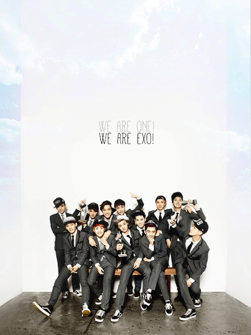 we are one, we are exo !