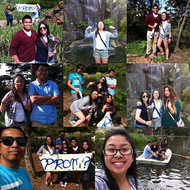 Promposal and adventure with the homieees! @lexiiisam @acabil @n_esguerra @hoyykris @mr_yeeezy #weout #funshiz #mytomsareeffedup 😂👌🚣