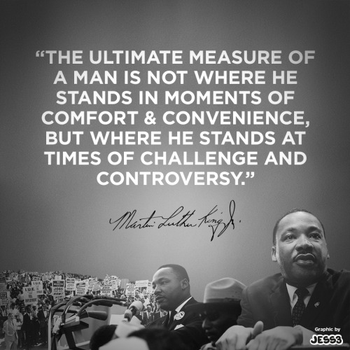 "Martin Luther King Quote Graphic ""In honor of Martin Luther King Jr. and his message, JESS3 created an image using one of our favorite quotes from Dr. King's sermons."" -JESS3 Community Manager: Heather Robertson"