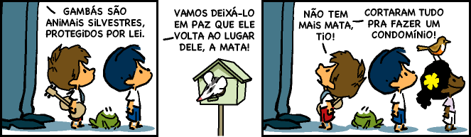 Tirinha original: