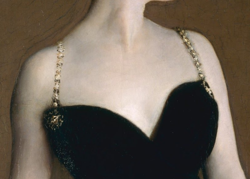 paintings-details:  John Singer Sargent, Madame X (Madame Pierre Gautreau) 1883-1884