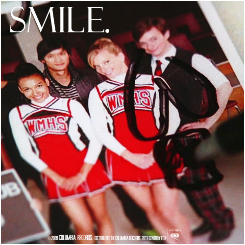1x12 Mattress | Smile Alternative Cover 'The Infinite Brittana Series'