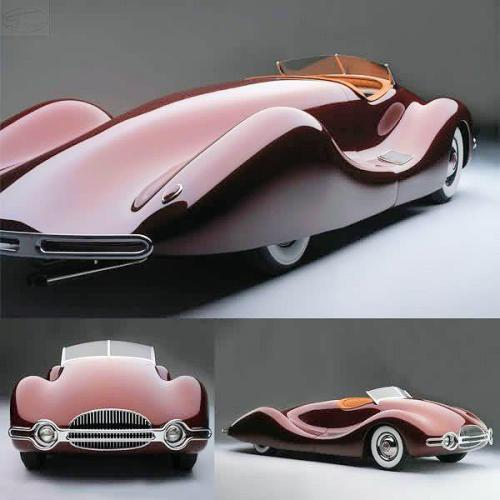 silver-room-caravan-rent:  Buick Streamliner, 1948