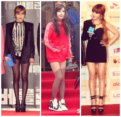 kpopfitspired:  Some lovely Bom for you ^^ Her legs are really gorgeous! :D