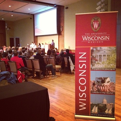 @UWMadison rolled out the #Badger #RedCarpet
