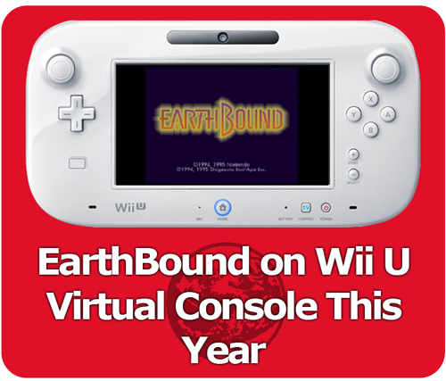 Nintendo announced on its latest Nintendo Direct video that EarthBound is slated to be released sometime this year on the Nintendo Wii U Virtual Console in North America. It's also going to be released in Europe.