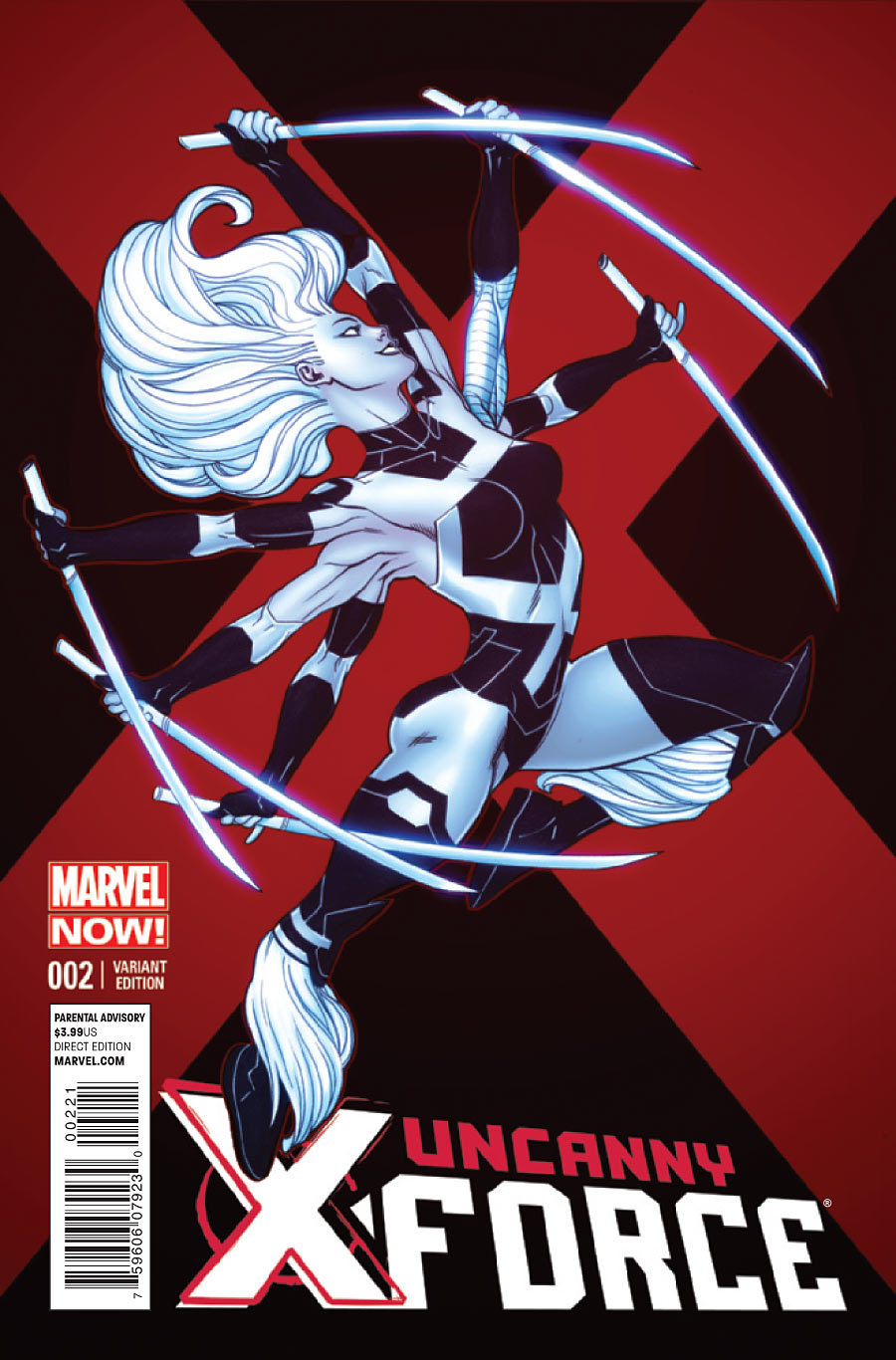 "UNCANNY X-FORCE issue 2 ""GIMME SHELTER"" on sale today! In comic book stores or online."