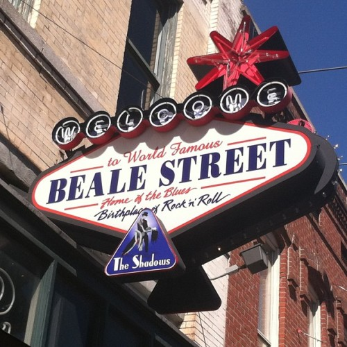 Birthplace of Rock an Roll. Home of the Blues. #BealeSt #Memphis #TN GoodTimes