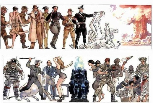 I didn't know this one from Milo Manara. Cool!