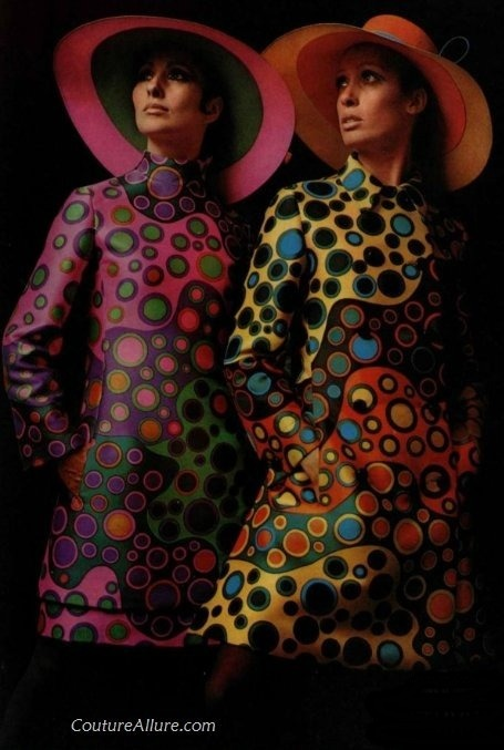 Fashion by Lanvin, 1968.