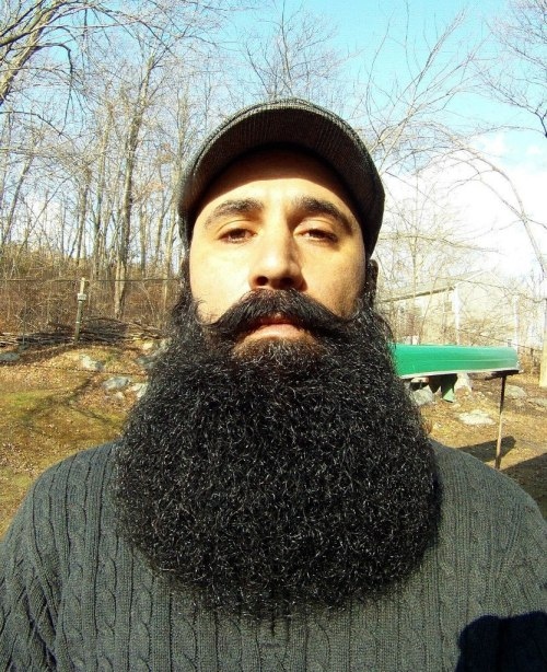 flickr-beard-power:  This is my Bearded Brother - Maximo Garcia Great Beard. Really great guy. Follow:  http://flickr-beard-power.tumblr.com/
