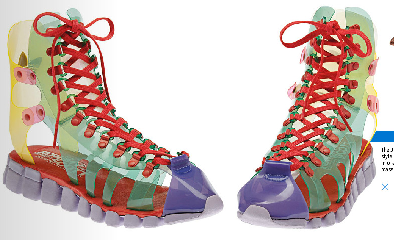 Must Haves:  Jeremy Scott Adidas Sneaker-Sandals for Spring 13..