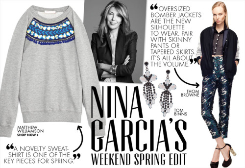 ninagarcia:  Nina Garcia's Weekend Spring Edit on Moda Operandi