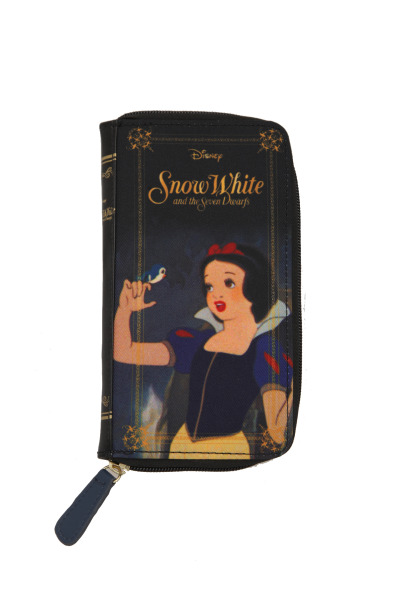 Disney Snow White Book Zip Wallet http://www.hottopic.com/hottopic/Accessories/Bags/Disney+Snow+White+Book+Zip+Wallet-689339.jsp
