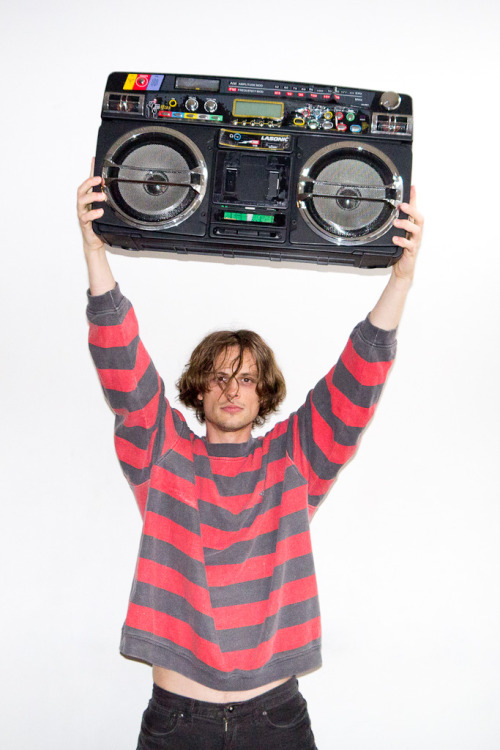 terrysdiary:  Matthew Gray Gubler at my studio #2