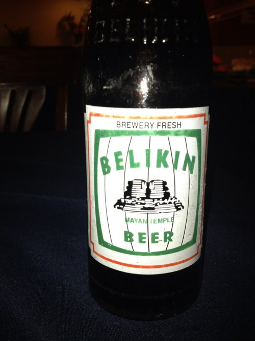 Belikin beer….delicious belizean beer  Source: Zacapatista 2013