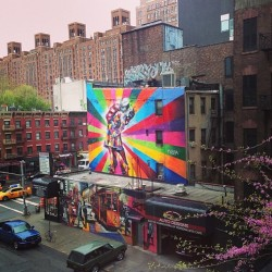 Vj day kiss -  Kobra. (en high line )