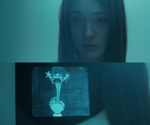 filmception:  Beyond the Black Rainbow (2010) dir. Panos Cosmatos feat. unknown