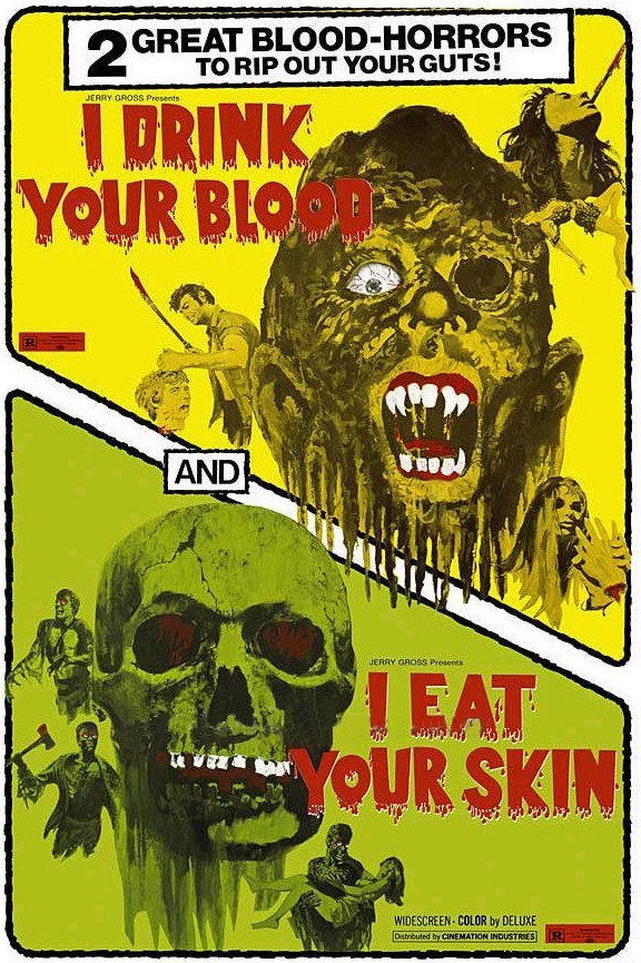beautyandterrordance:  I Drink Your Blood / I Eat Your Skin