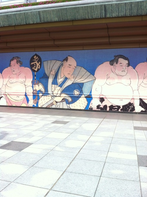 Sumo You have no idea how long I stood here till I got a clear shot.