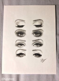 observingly:  l4dyboner:  finished product. the eyes of a queen - lana del rey  wow.