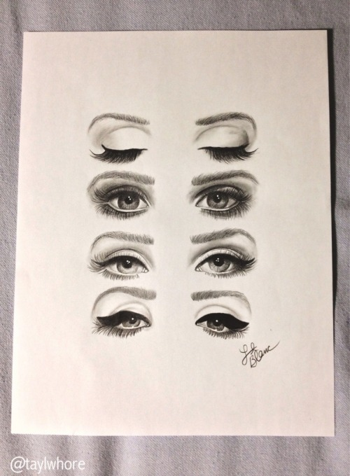 the-absolute-best-posts:  observingly: l4dyboner: finished product. the eyes of a queen - lana del rey wow. This post has been featured on a 1000notes.com blog.