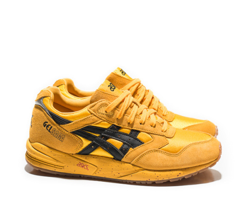 "gotyoursole-lution:  Asics Gel Saga II ""Kill Bill""  Release Date: 4/18/2013"