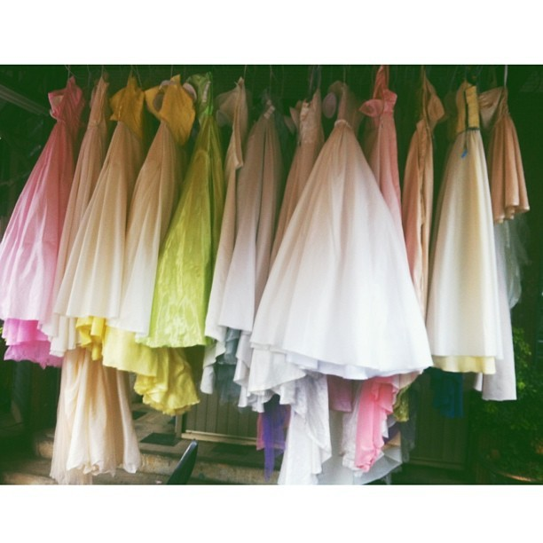 bridal shower   #bridalshower#laundry#laundromat#onthestreet#instasnap#gowns