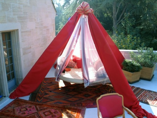 When: Your DIY skills have reached their apex. Where: Your teepee hammock dream lounger. Why: To fulfill the destiny of this apparatus.