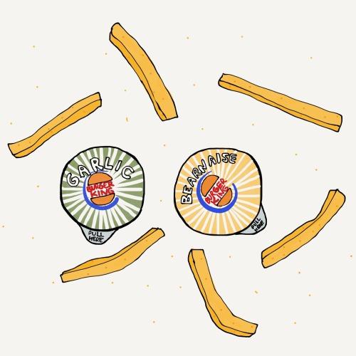 first world problems ilandsproblem illustration madewithpaper burgerking fries pommes food foodie digital fastfood omg