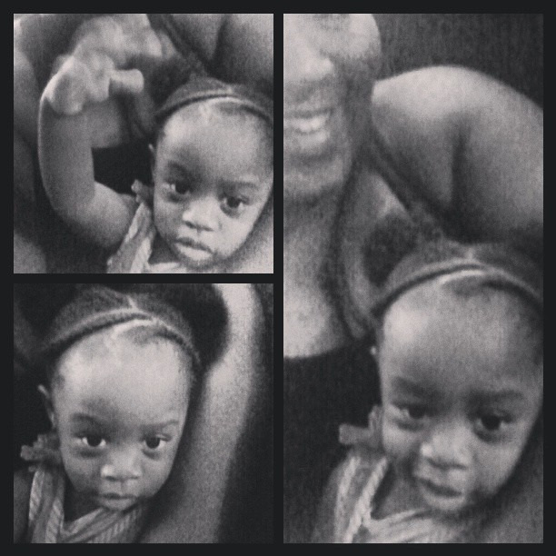 Baby sitting for @mzcaramel91 She fought me for a hour cause I was doing this super simple hairstyle. She crazy man… #auntiebaby #myneice #Adrienne #hairdo #childrenhairstyles #mickeymouse
