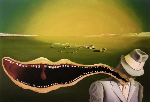 "salvador-dah-lee:  Very much in Dali's surrealist tradition.""The Life and Death of a Businessman""Matthew Marquis, 2009"