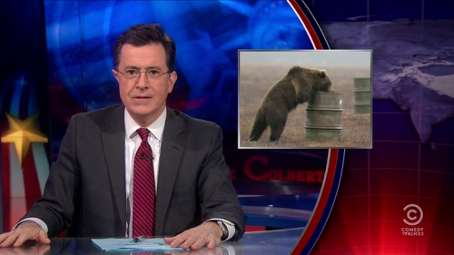sexmahoney:  Great Moments in Freeze Frame #3810 - The Colbert Report
