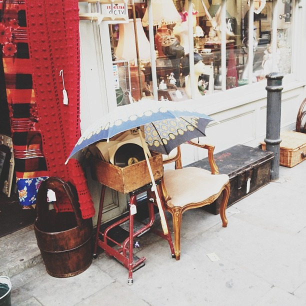| ♕ |  Antique shop - Shoreditch, London  | by © hjartesmil