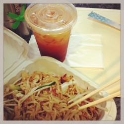 The only good thing so far to emerge from jury duty. #thai #foodporn #instafood @ejvalle24  (at Noodle zen Uwajimaya)