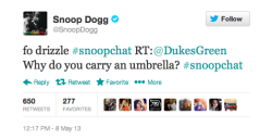 rollingstone:  Take a look at Snoop Dogg's best responses from yesterday's #SnoopChat.