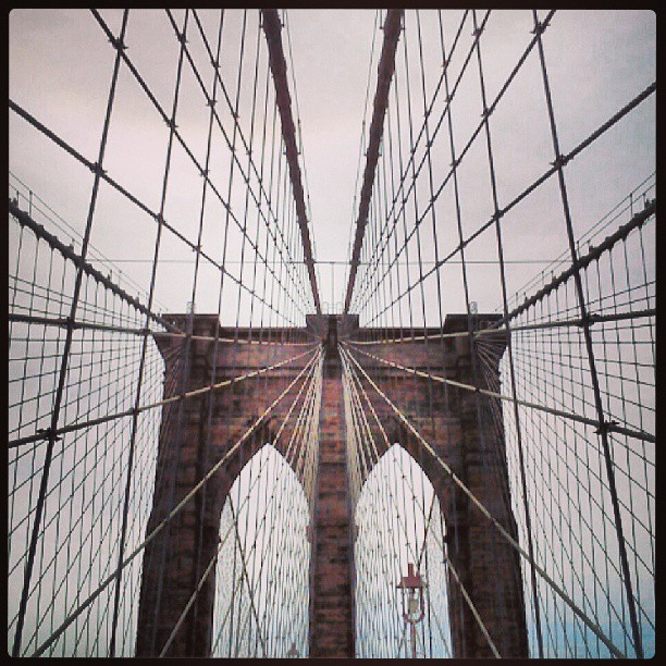 It's the #Brooklyn #Bridge bitch! #NYC